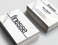 Finesse Football Agency - Logo, Business Card & Print