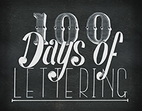 100 Days of Lettering Challenge Begins