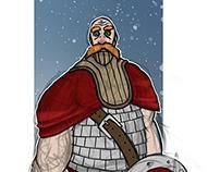 Viking Board game work in progress