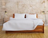 Sheesham bed