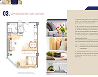 Brochure for the renovation of an old building