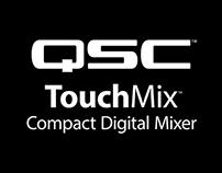 TouchMix Landing Page