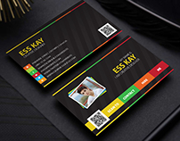 Free Designers Creative Personal Business Card Template
