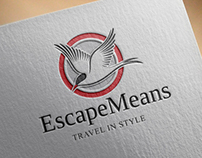 Escape Means - Brand Identity Design