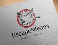 Escape Means - Brand Identity Design