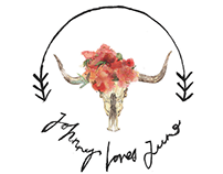Johnny Loves June —Logo Collaboration