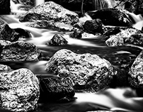 Infrared Long Exposure - Black And White
