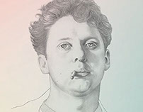 Dylan Thomas for 'The Atlantic'