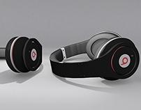 Headphone Beats Studio in 3D