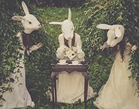 Rabbits' Tea Time