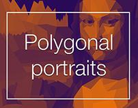 Polygonal portraits