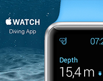Apple watch diving app