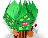 Paper toy C-Myk