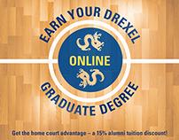 Drexel University Alumni Basketball Flyer