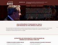 Hotsite - Seminário HSM John Davis