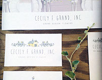 Cecily F. Grand Inc - Rebrand & Website Design