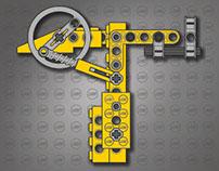 LEGO Technic Font