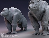 Reference Nature for Unique Creature Creation in ZBrush