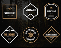 Vintage Logos & Badges Vol. 21