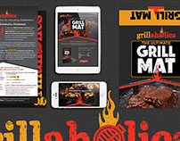 Grillaholics Grill Mat