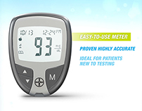 Diabetes Testing Device Renders and Animations