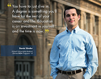 Drexel University Online What Our Students Say Posters