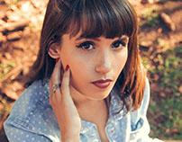 Maquiagem do ensaio fotográfico da Marilise