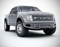 3D Model - Ford Raptor Super Crew