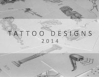 tattoo designs 2014