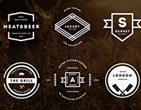 Vintage Logos & Badges Vol. 23