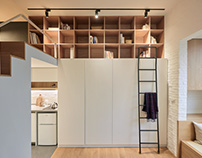 A Little Design | Tiny Apartment in Taipei