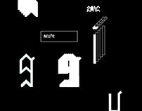 Acure Typography