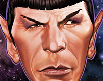 Mr.Spock Caricature
