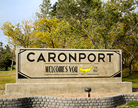Caronport Welcomes You Signage