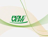Plaquette 3 volets Pole Vert