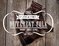 Branding Empresarial - Different Folk