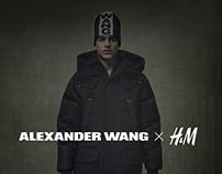 Alexander Wang X H&M Web Design