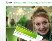 Viral Website design for Dutch Telecom Provider KPN