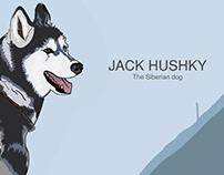 The Siberian Hushky