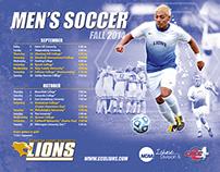 GCU Lions 2014-15 Schedules