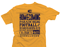 UW Eau-Claire Alumni - 2014 Homecoming T-Shirts