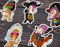 Stickers cowboys!