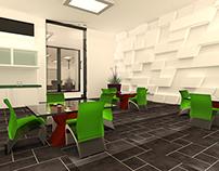 3D Office Interrior
