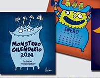 Monstruocalendario 2014
