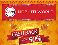 Diwali :: Newspaper Ad :: Mobiliti World