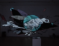 Paint-Mapping by ONDÉ & Psoman - BAM Festival 2014
