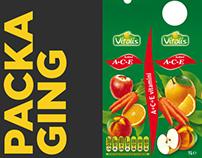 Branding Vitalis Juices