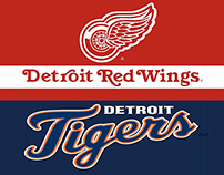 Detroit Red Wings and Tigers E-Cigar & E-Cig Line