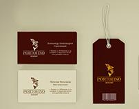 Portofino. Branding of the fashion boutique.