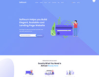 Software, App , Saas & Product Showcase Landing Page